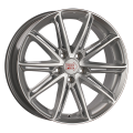 1000 Miglia MM1007 7,5x17 5x114,3 ET40 67,1 Silver Gloss Polished