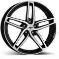 AEZ GENUA 7,5x17 5x112 ET36 66,6 Black Matt Polish